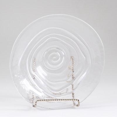 """Simon Pearce """"Thetford"""" Glass Bowl"""