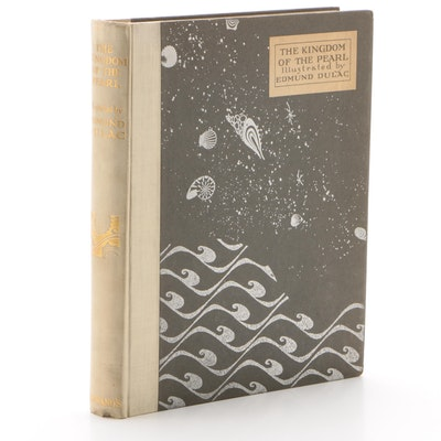 """Limited Edition """"The Kingdom of the Pearl"""" with Illustrations by Edmund Dulac"""