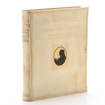 """Illustrator Signed Limited Edition """"Mr. Pickwick"""" by Charles Dickens, 1910"""