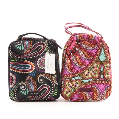 "Vera Bradley ""Bandana Swirl"" and ""Resort Medallion"" Lunch Bunch Bags"