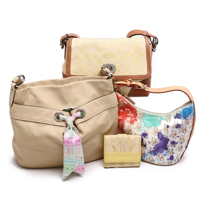 Dooney & Bourke and Coach Shoulder Bags and Wallet