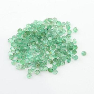 Loose 6.90 CTW Emerald Gemstones