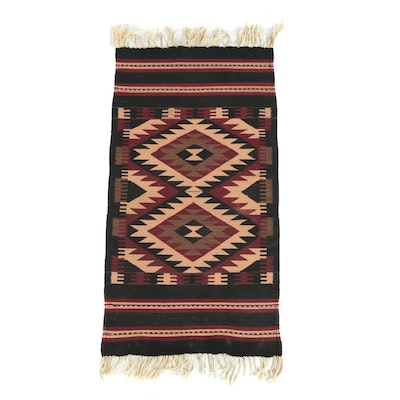 Handwoven Mexican Style Wool Area Rug