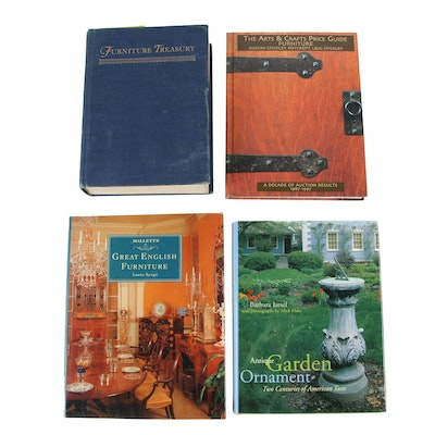 """Wallace Nutting """"Furniture Treasury"""" and Other Books on Homes and Gardens"""