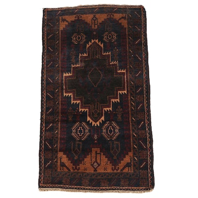 Hand-Knotted Afghan Bahor Wool Area Rug