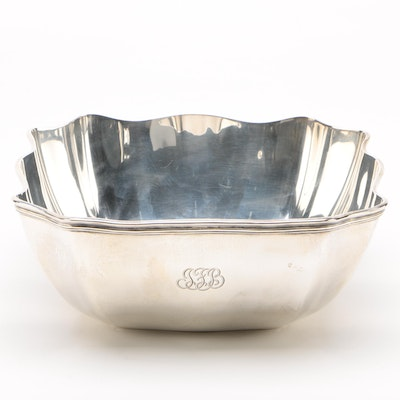 Tiffany & Co. Sterling Silver Five-Pint Centerpiece Bowl, 1907–1947