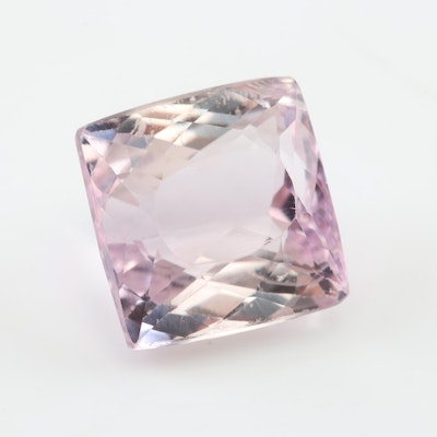 Loose 4.61 CT Kunzite Gemstone