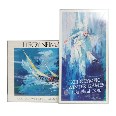 Leroy Neiman Offset Lithograph Posters