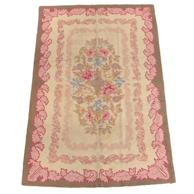 Priscilla Turner Rug Guild Hand-Hooked Wool Area Rug, Early 20th Century