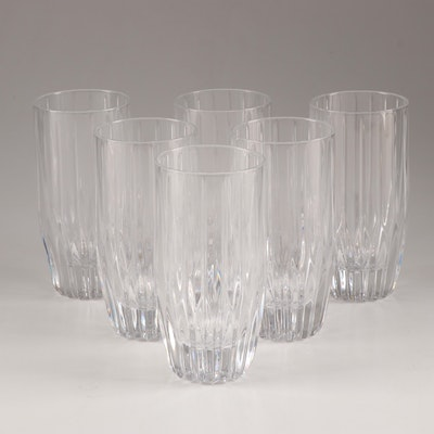 "Mikasa Crystal ""Park Lane"" Highball Tumblers"