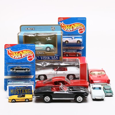 Diecast Cars Including Revell, Ertl, A.T.M and Hot Wheels