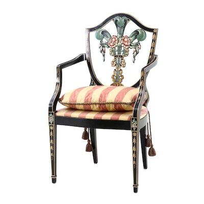 Italian Hepplewhite Armchair