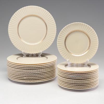 "Lenox ""Cretan"" Bone China Plates"