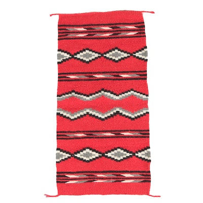 Native American Style Flatwoven Accent Rug