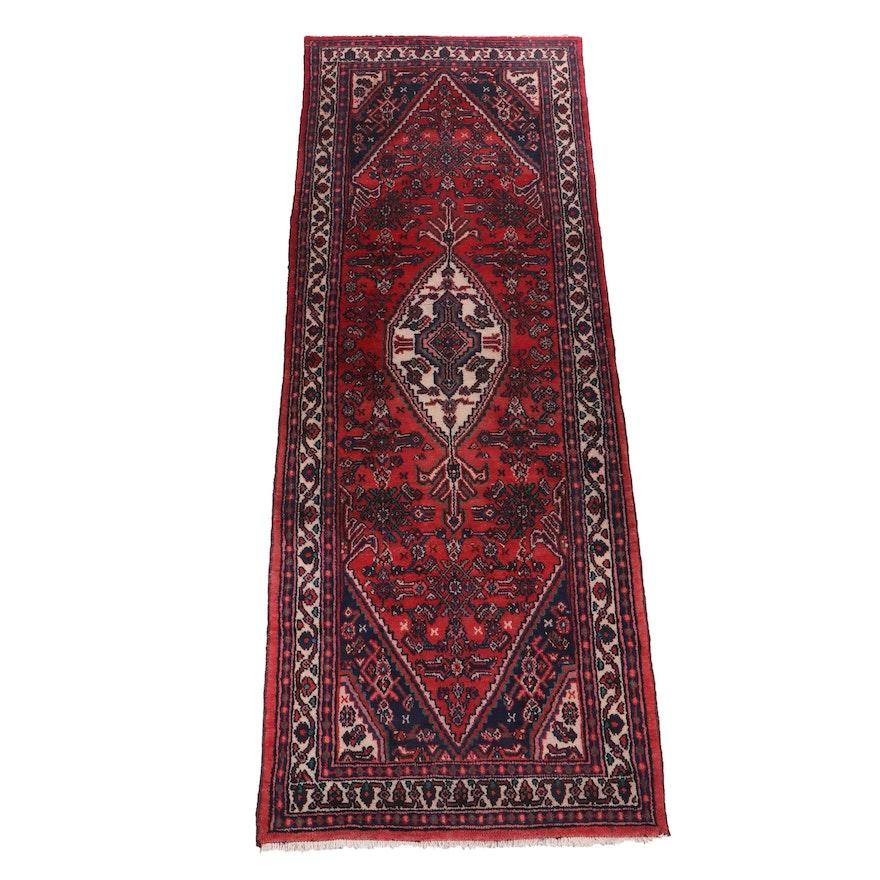 Hand-Knotted Persian Dajezine Wool Rug