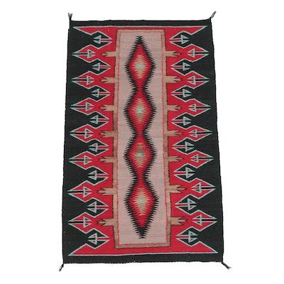 Handwoven Southwestern Style Wool Area Rug