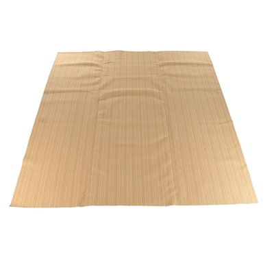 Power-Loomed Tan Textural Square Room Sized Rug