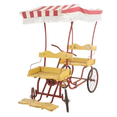 Gym-Dandy Surrey Pedal Car for Children, Mid-Century