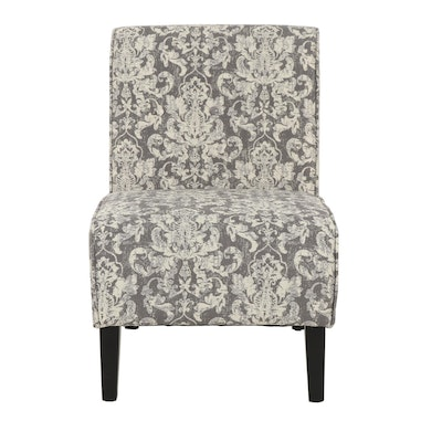 Contemporary Linon Home Decor Upholstered Lounge Chair