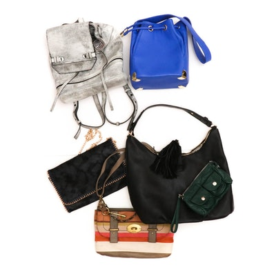 Vince Camuto Bucket Bag, Fossil Leather Crossbody, She + Lo Backpack, and More