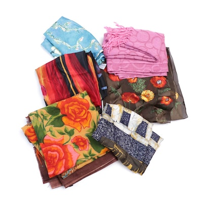 Scarves and Wraps Featuring Ellen Tracy
