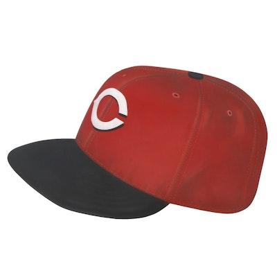 Large Cincinnati Reds Baseball Cap Wall Display