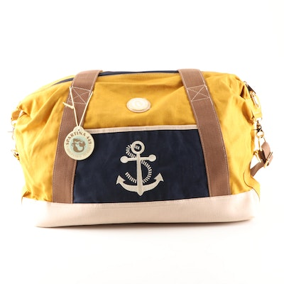 Spartina 449 of Daufuskie Island Linen Anchor Duffel Bag