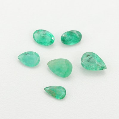Loose 2.70 CTW Emerald Gemstones