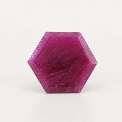 Loose 11.84 CT Ruby Gemstone