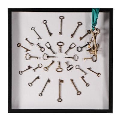 Decorative Keys and Framed Art