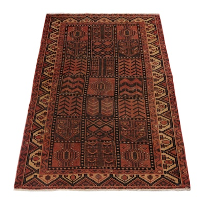 4'10 x 7'6 Hand-Knotted Northwest Persian Rug, circa 1950