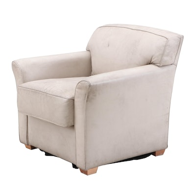 Bernhardt Bonded Leather Armchair From Great American Ball Park Clubhouse