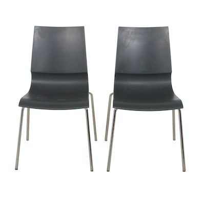 Marco Maran for Max Design Stackable Ricciolina Side Chairs