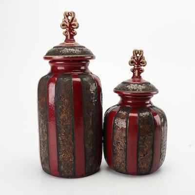Lidded Ceramic Vessels