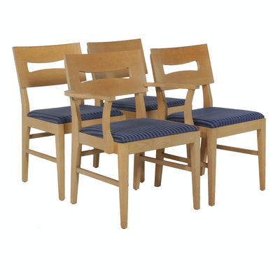 Maple Mid-Mod Dining Chairs
