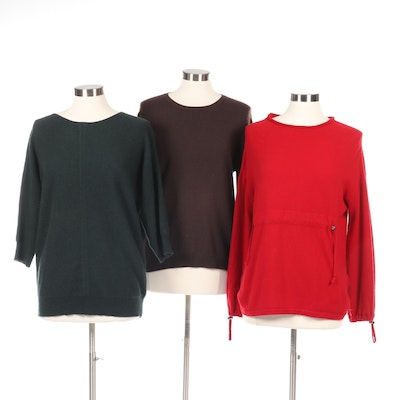 Cynthia Rowley, Saks Fifth Avenue, and Childress Cashmere Sweaters