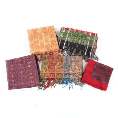 Women's Scarves with Cashmere, Silk, Wool and More