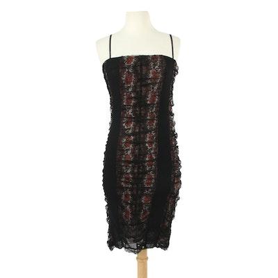 Jean Paul Gaultier Sleeveless Bodycon Dress in Lace, 1990s