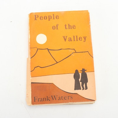 "Signed First Edition of ""People of the Valley"" by Frank Waters"
