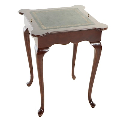 The Bombay Company, Queen Anne Style Games Table with Reversible Top