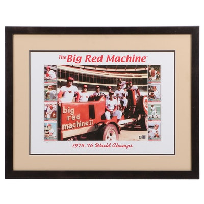 """The Big Red Machine"" Offset Lithograph Poster"
