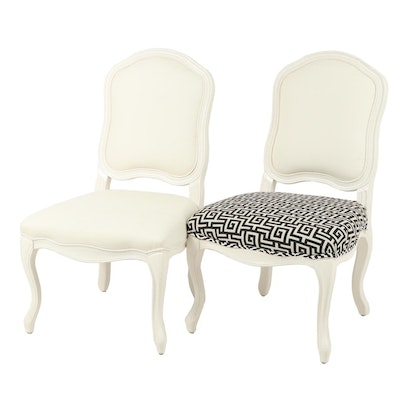 Pair of Leather Upholstered Chairs