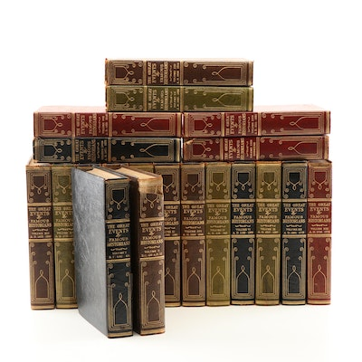 """""""Great Events by Famous Historians"""" Americanism Edition 22 Volume Set"""