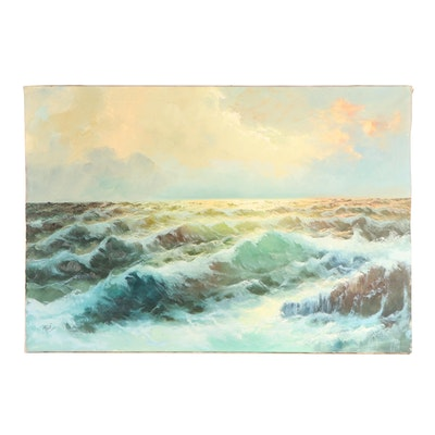Seascape Oil Painting