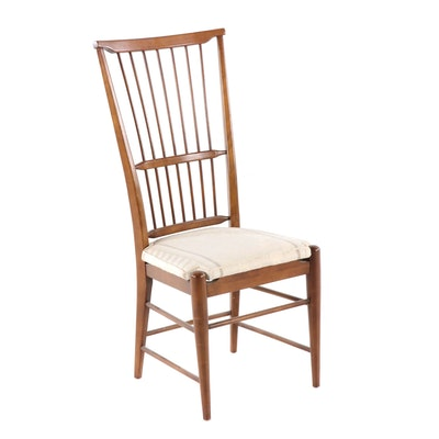 Rake Back Side Chair, Mid Twentieth Century