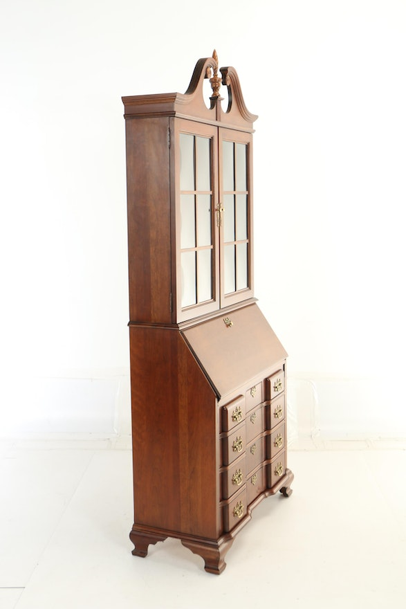 Jasper Cabinet Co., Chippendale Style Cherrywood ...