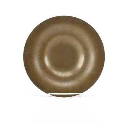 Tiffany Studios Bronze Doré Centerpiece Bowl, Early 20th Century
