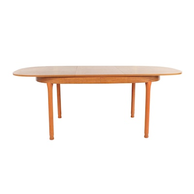 Mid Century Modern Wooden Dining Table