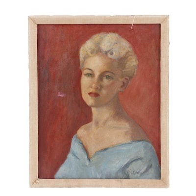 Weissman Portrait Oil Painting