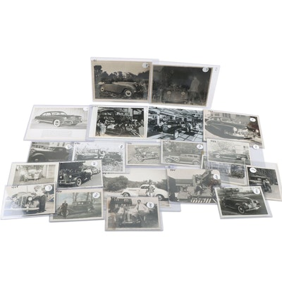 Automobile Promotional and Snapshot Photos Collection, 1940s-1950s